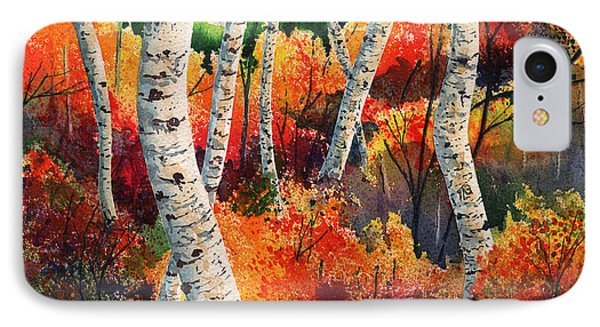 Forest In Color IPhone Case