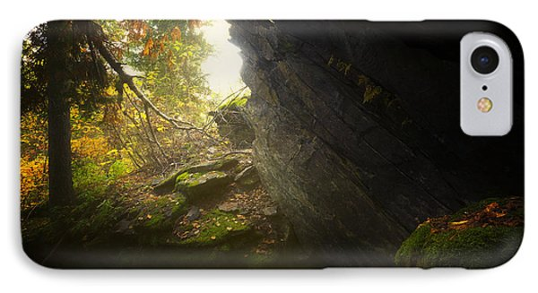 Forest Light Trail IPhone Case