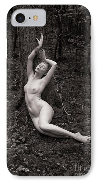 Forest Nude IPhone Case
