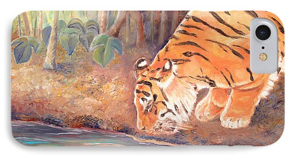 Forest Tiger IPhone Case