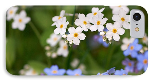 Forget Me Nots IPhone Case