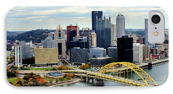 Fort Pitt Bridge IPhone Case