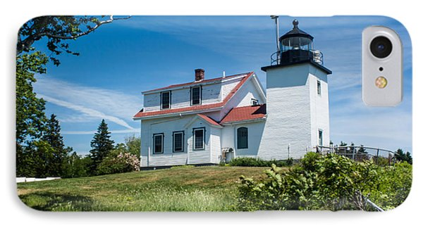 Fort Point Lighthouse  Stockton Springs Me 2  IPhone Case