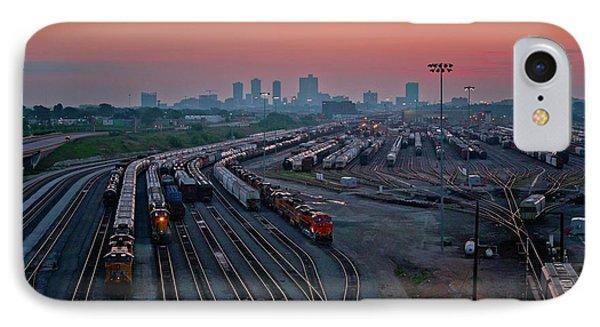 Fort Worth Trainyards IPhone Case