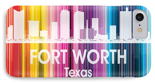 Fort Worth Tx 2 Squared IPhone Case
