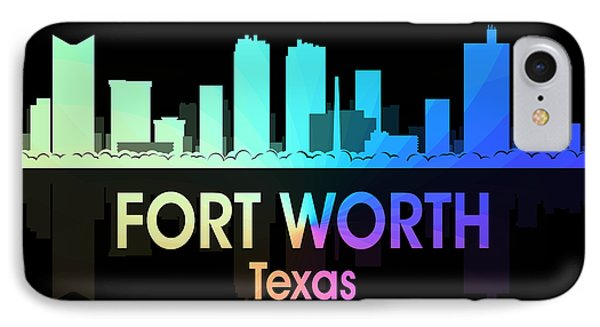 Fort Worth Tx 5 Squared IPhone Case