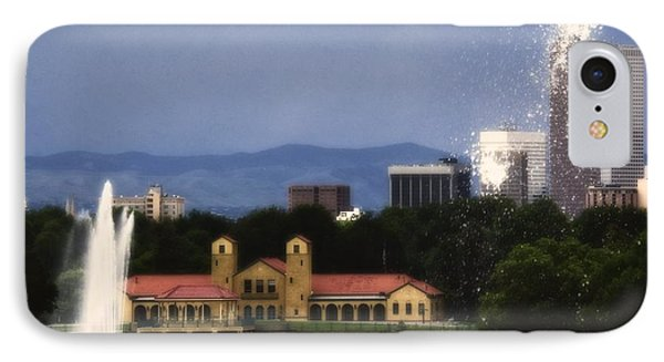 Fountains IPhone Case