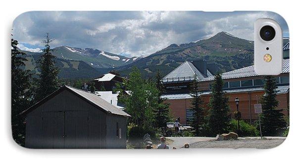 Four Little Children Safe In A Big Beautiful World Telluride Colorado IPhone Case