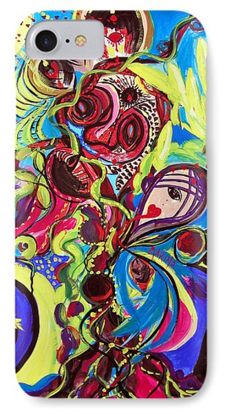 Experimenting With Creation IPhone Case