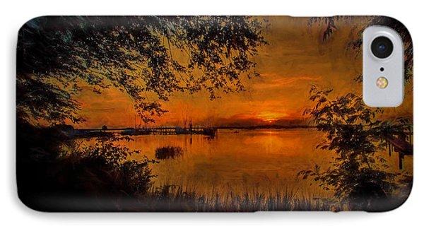 Framed Sunset IPhone Case