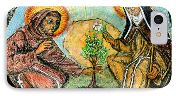 Francis And Claire Plant A Tree IPhone Case