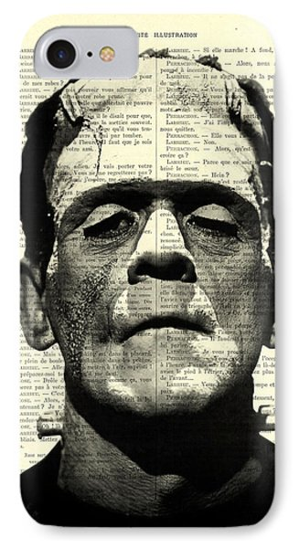 Frankenstein On Dictionary Page IPhone Case