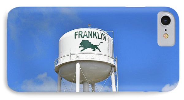 Franklin Texas Water Tower IPhone Case