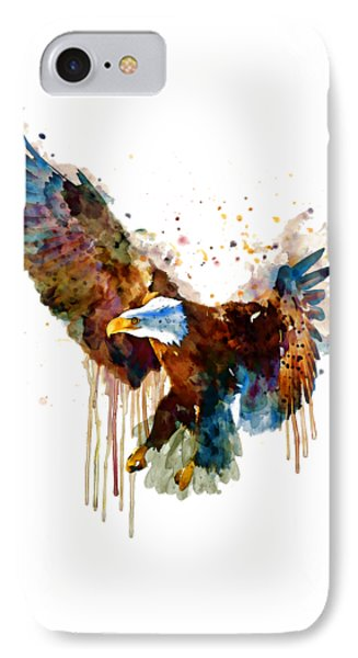 Free And Deadly Eagle IPhone Case