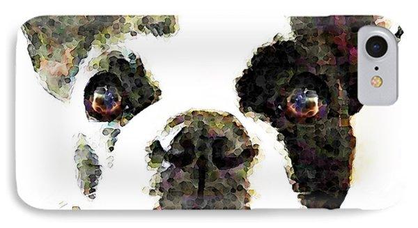 French Bulldog Art - High Contrast IPhone Case