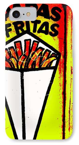 French Fries Santiago Style  IPhone Case