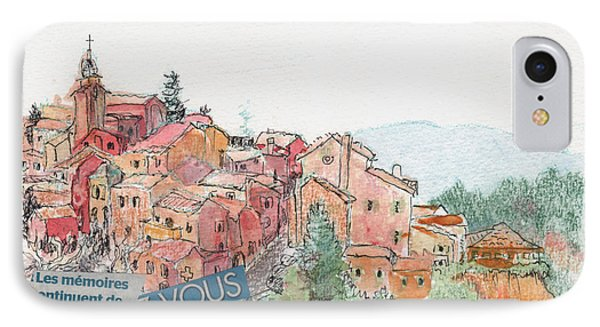 French Hill Top Village IPhone Case