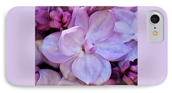 French Lilac Flower IPhone Case
