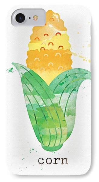 Truck iPhone 8 Case - Fresh Corn by Linda Woods