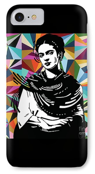 IPhone Case featuring the painting Frida Stay True by Carla Bank