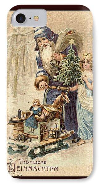 Frohe Weihnachten Vintage Greeting IPhone Case
