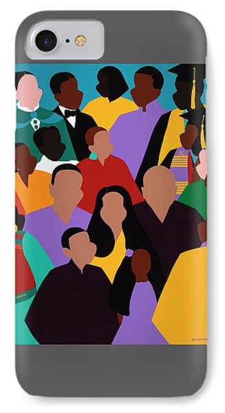 iPhone 8 Case - From Our Founding To Our Future by Synthia SAINT JAMES