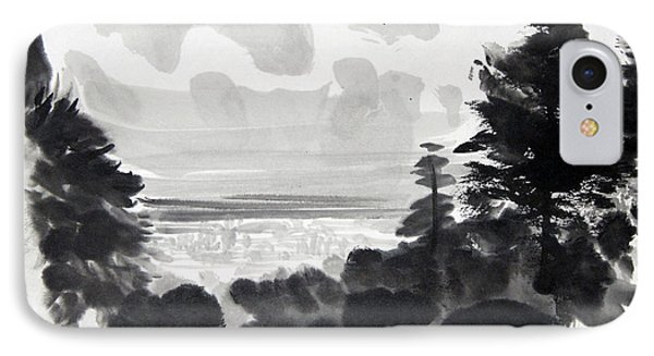 From The Hill IPhone Case