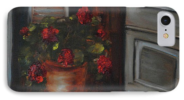 Front Porch Flowers IPhone Case