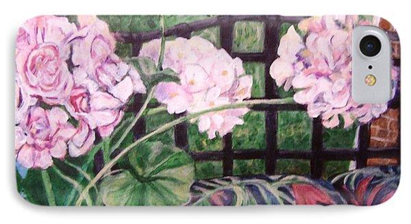 Front Porch Flowers IPhone Case