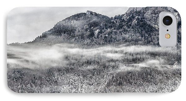 Snowy Grandfather Mountain - Blue Ridge Parkway IPhone Case
