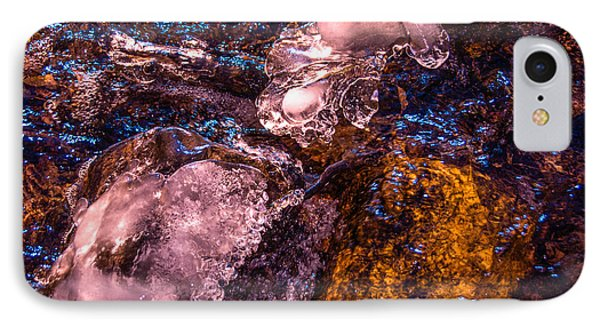 Frozen Lake Abstract IPhone Case