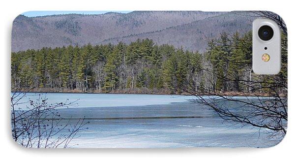 Frozen Lake Chocorua IPhone Case