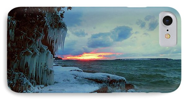 Frozen Sunset In Cape Vincent IPhone Case