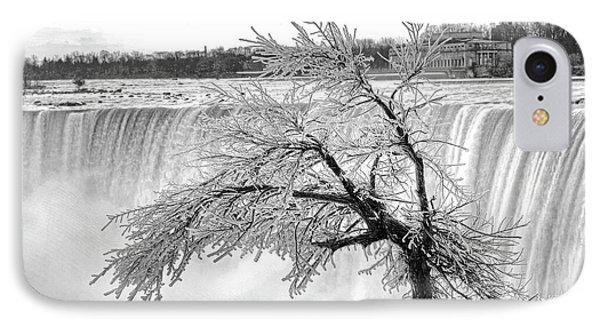Frozen Tree Near Niagara Falls IPhone Case