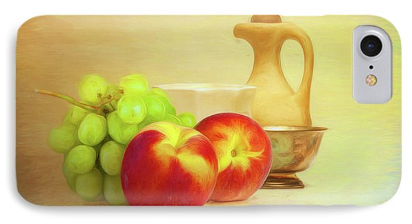 Fruit And Dishware Still Life IPhone Case