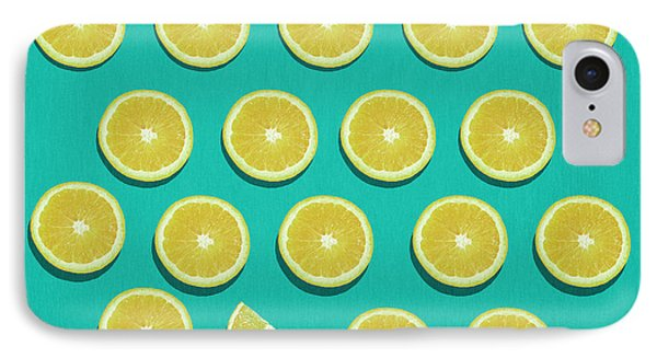 Shapes iPhone 8 Case - Fruit  by Mark Ashkenazi