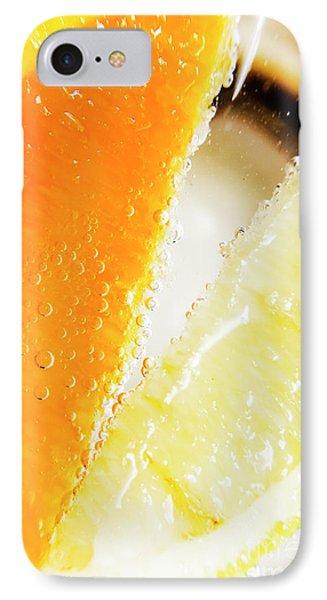 Fruity Drinks Macro IPhone Case