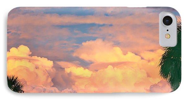 Ft De Soto Sunset Clouds IPhone Case