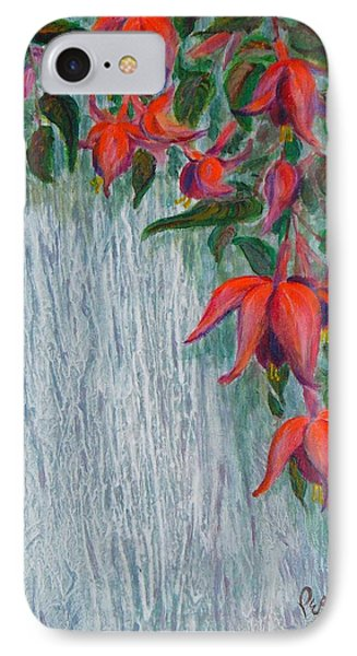 Fuchsia On The Fence IPhone Case