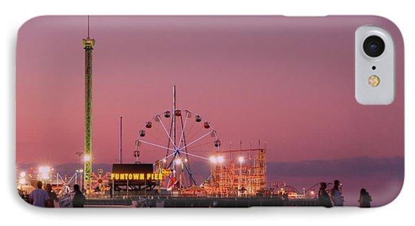 Funtown Pier At Sunset IIi - Jersey Shore IPhone Case