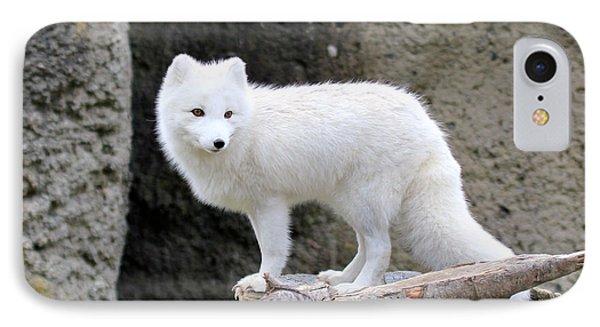 Furry Arctic Fox  IPhone Case