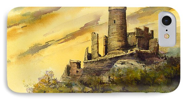 Castle iPhone 8 Case - Furstenburg On The Rhine by Sam Sidders