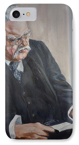 G K Chesterton IPhone Case
