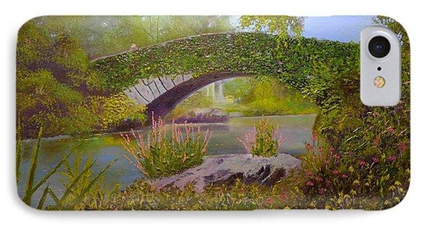 Gapstow Bridge Central Park IPhone Case