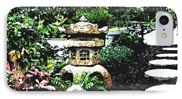 Garden Lantern IPhone Case