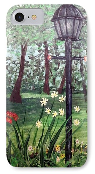 Garden Light IPhone Case