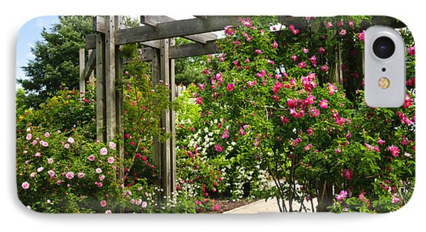 Garden With Roses IPhone Case