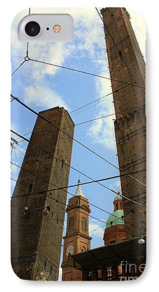 Garisenda And Asinelli Towers IPhone Case