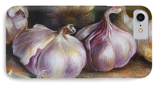 Garlic Painting IPhone Case