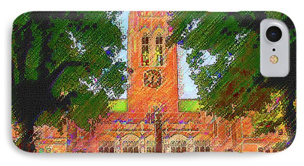 Gasson Hall  IPhone Case